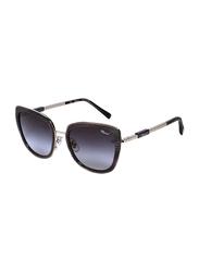 Chopard Full Rim Cat Eye Grey/Gold Sunglasses for Women, Grey Lens, SCHC22, 54/20/135