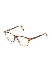 Tom Ford Full-Rim Cat Eye Havana Eyeglasses Frame for Women, TF5402, 54/15/140
