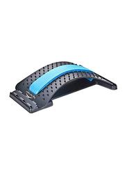 Fitness World Back Stretcher Device, 15 inch, Black/Blue