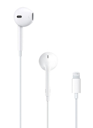 Apple EarPods with Lightning Connector In-Ear Headphones, White
