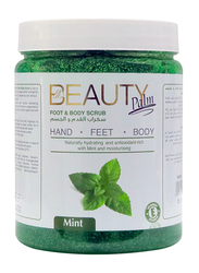 Beauty Palm Mint Foot and Body Scrub, 1 Litre