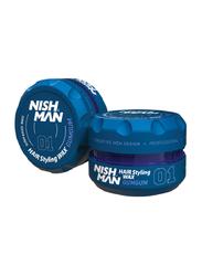 Nish Man Gumgum 01 Hair Styling Wax for All Hair Types, 150ml