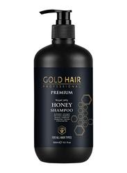 Gold Hair Honey Shampoo for All Hair Types, 300ml