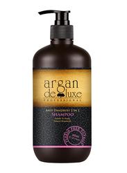 Argan Deluxe 2-in-1 Anti Dandruff Shampoo for All Hair Types, 300ml