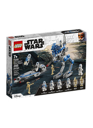 Lego 75280 501st Legion Clone Troopers Model Building Set, 285 Pieces, Ages 7+