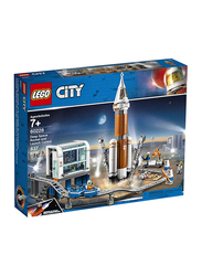 Lego 60228 Deep Space Rocket and Launch Control Building Set, 837 Pieces, Ages 7+