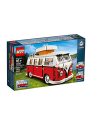 Lego 10220 Volkswagen T1 Camper Van Model Building Set, 1334 Pieces, Ages 16+