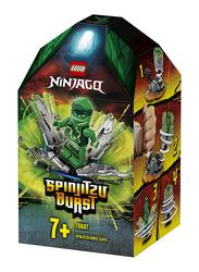 Lego 70687 Ninjago Spinjitzu Burst - Lloyd Green Ninja Spinner Set, 48 Pieces, Ages 7+