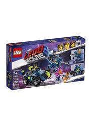 Lego 70826 Rex's Rex-treme Offroader Model Building Set, 236 Pieces, Ages 7+