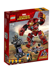 Lego 76104 The Hulkbuster Smash-Up Model Building Set, 375 Pieces, Ages 7+