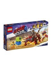 Lego 70827 Ultrakatty & Warrior Lucy Model Building Set, 348 Pieces, Ages 8+