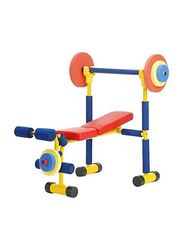 Fun & Fitness Weight Bench for Kids, Multicolour, Age 3+