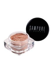 Sampure Minerals Crushed Eyeshadow, 1gm, Heavenly Bronze, Brown