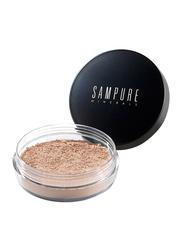 Sampure Minerals Instant Glow Mineral Loose Setting Powder, 4.5gm, Glow, Beige