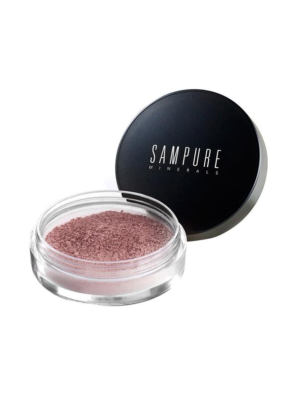 Sampure Minerals Instant Glow Mineral Blush, 2.5gm, Shimmer N Spice, Beige