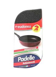 Eudorex Sferattiva Padelle Sponge, 2 Pieces