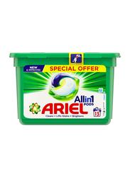Ariel 3-in-1 Pods Washing Liquid Capsules, 15 Pods x 27g