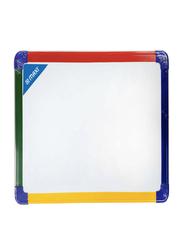 Maxi Double Sided Drywipe Whiteboard, 30 x 40cm, White
