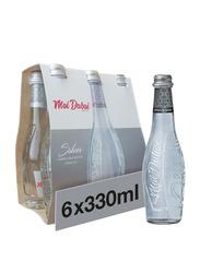 Mai Dubai Glass Bottled Sparkling Water, 6 Bottles x 330ml