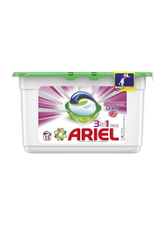 Ariel 3-in-1 Pods Washing Liquid Capsules with Touch of Freshness Downy, 15 Pods x 27g