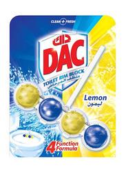DAC Power Active Lemon Toilet Rim Block, 50g