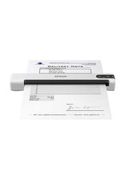 Epson WorkForce Portable Scanner, DS-70, White