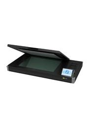 Contex IQ Flex A2 Flatbed Scanner, 1200DPI, Black
