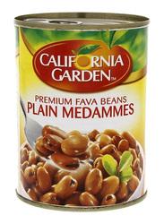 California Garden Premium Canned Fava Beans Plain Medammes, 450g
