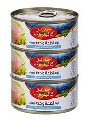 California Garden White Solid Tuna In Water & Salt, 3 Piece x 170g
