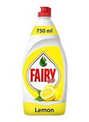 Fairy Lemon Dishwashing Liquid Soap, 750ml