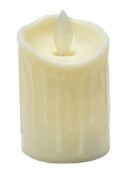 Yatai LED Tea Lights Candles, Small, 2 Pieces, White