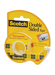 3M Scotch Permanent Double Sided Tape, 36 Piece, Clear