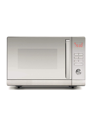 Black+Decker Lifestyle Combination Microwave Oven with Grill & Mirror Finish, 30 Litre, 900W, MZ30PGSS-B5, Silver