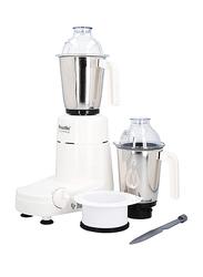 Preethi Chefpro Mixer Grinder, 750W, MG-128/09, White/Silver