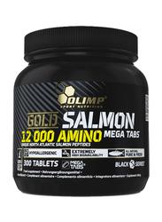 Olimp Gold Salmon 12000 Amino Mega Cap, 300 Tablets, Regular