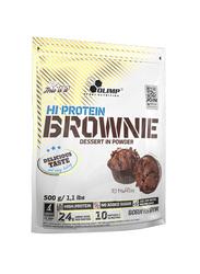 Olimp Hi Protein Brownie Dessert In Powder, 500g, Chocolate