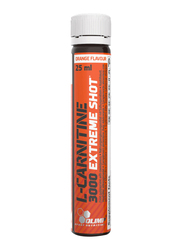 Olimp L-Carnitine 3000 Extreme Shot, 20 x 25ml, Orange