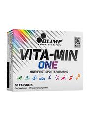 Olimp Vita-Min One Sports Vitamins Supplement, 60 Capsules, Regular