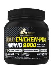 Olimp Gold Chicken-Pro Amino 9000 Mega Tabs, 300 Tablets, Regular