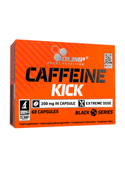 Olimp Caffeine Kick Power Caps, 60 Capsules, Regular