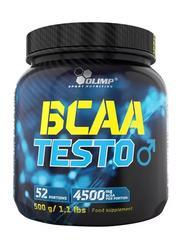 Olimp BCAA Testo Protein Powder, 500g, Orange