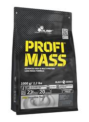 Olimp Profi Mass Powder, 1000g, Strawberry