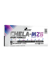 Olimp Chela MZB Formula Sport Formula Mega Caps, 60 Capsules, Regular