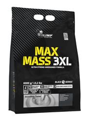 Olimp Max Mass 3XL Powder, 6000g, Strawberry