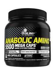 Olimp Anabolic Amino 5500 Mega Caps, 400 Capsules, Regular