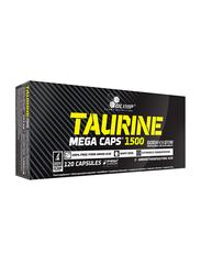 Olimp Taurine 1500 Mega Caps, 120 Capsules, Regular