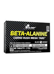 Olimp Beta-Alanine Carno Rush Mega Tabs, 1940mg, 80 Tablets, Regular