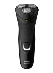 Philips 1200 Wet or Dry Electric Shaver, S1223, Black