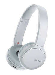 Sony WH-CH510 Wireless/Bluetooth On-Ear Headphones, White