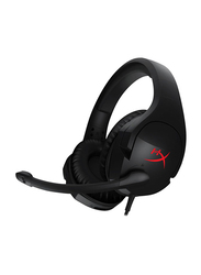HyperX Cloud Stinger Wired Over-Ear Gaming Headset, Black/Red